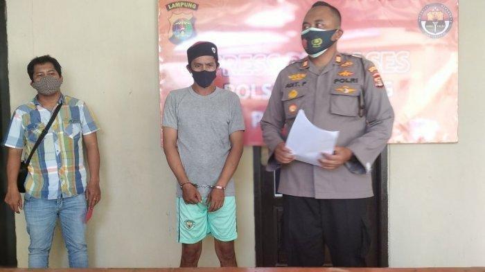 Dijanjikan Upah Rp 300 Ribu, Juru Parkir di Bandar Lampung Nyambi Jadi Kurir Sabu